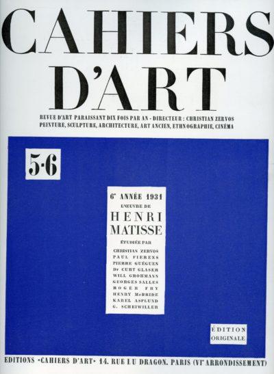 Cahiers D'Art 5-6079